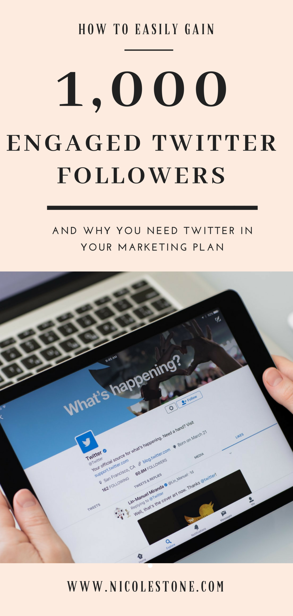 Need to gain Twitter traffic?! Use this ENGAGING media method, where you post videos and photos to generate a traffic driving Twitter account. Gain your first 1,000 followers NOW! #socialmedia #twitter #marketing
