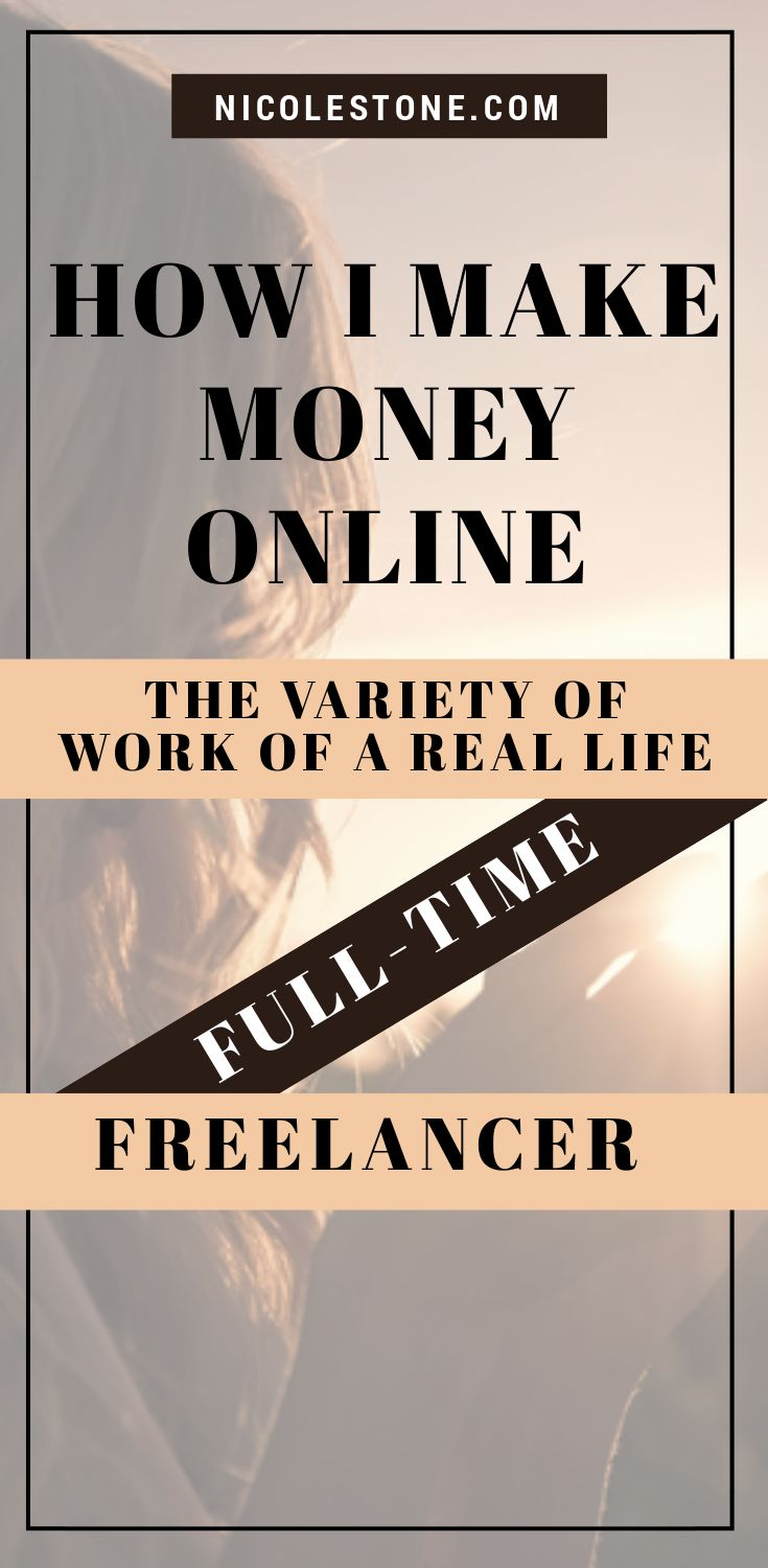 Exactly how I make money as an online freelancer. I talk about the variant different ways I generate income to allow me to become a digital nomad. A real, replicable method that can help anyone work at home or from anywhere! #workathome #makemoneyonline #freelance #blogging