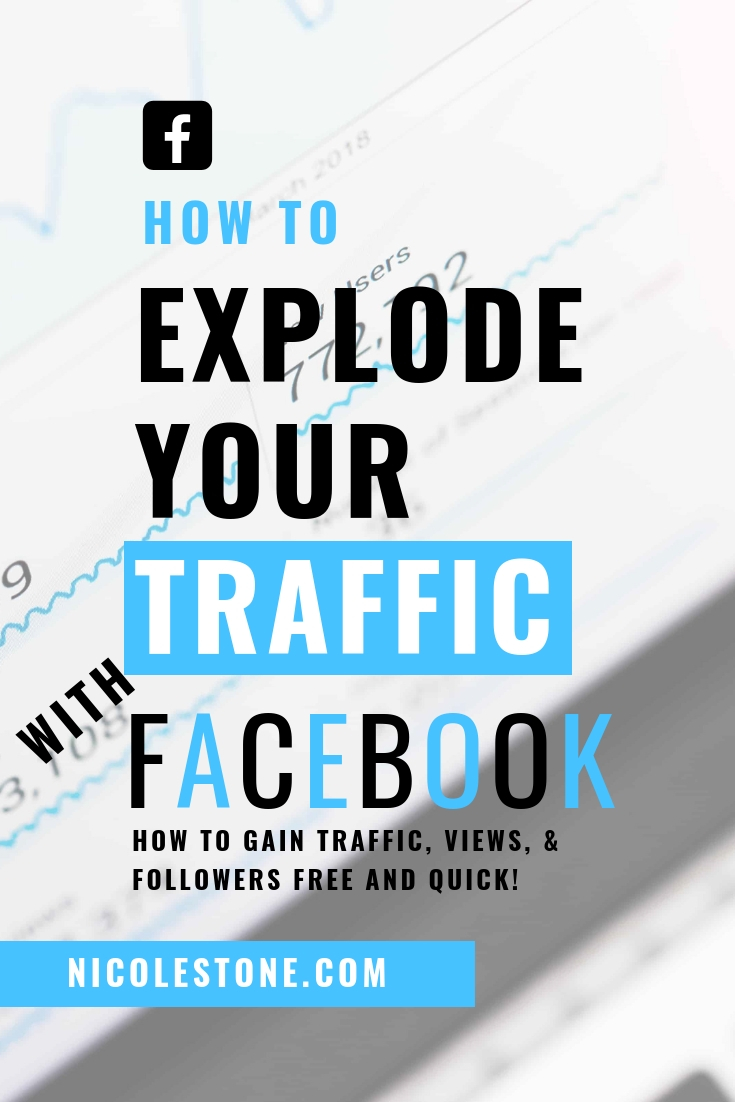 Use Facebook groups to explode your traffic! Plus a free list of the best groups to join! #socialmedia #marketing #blogging #blogtraffic