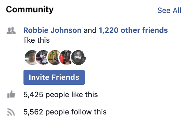 Invite Facebook Friends to Like your Page