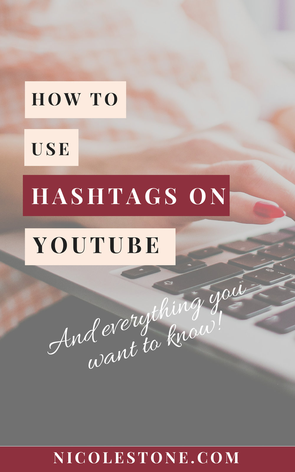 The secret hashtag YouTube strategy. Learn exactly how using hashtags on YouTube can revolutionize your marketing game! #marketing #socialmedia # blogging #blog