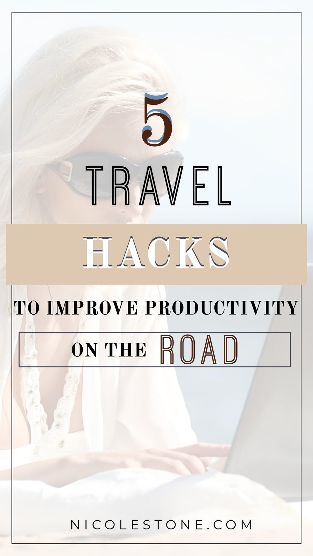 Rock your business on the road! Learn how to travel and make money! #livingthedream #productivity #workontheroad