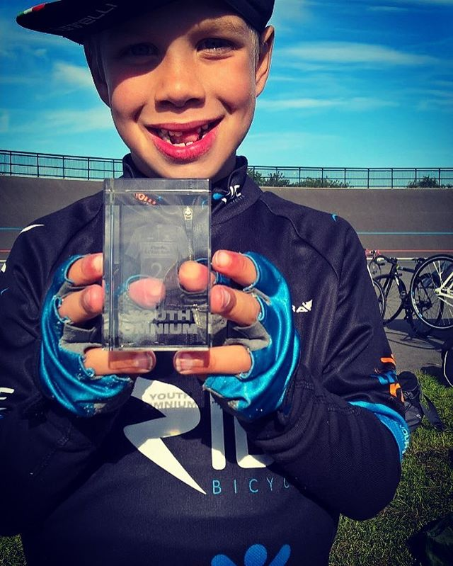 Stunning effort today from up and coming team rider Daniel today , with a second in the youth omnium .. well done !! :-0) #ridewithride #bournemouthvelodrome