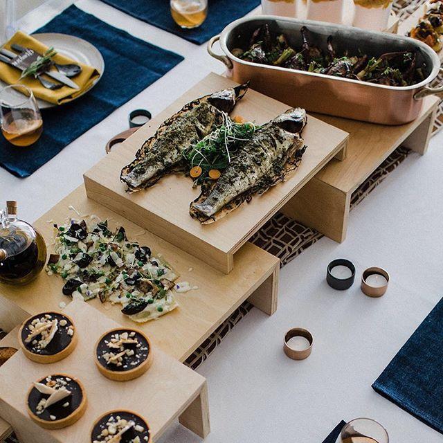 Drool Alert! 🤤 Our laid-back luxe + foodie wedding #inspo is featured on @greenweddingshoes 😍! Link in bio 👆🏽. ... @bashologyevents   event design + installations @harmonyinhappenstance   photography @getplateddc   catering @cedarandlimeco   florist @studio52dc   venue @rachelkapisak   handcrafted menu and window art @smcquaidcalligraphy   calligraphy @dcreventrentals   rentals @memkoh   stylist + models @saltandsundry   decor @hellooo.gorgeous   make up