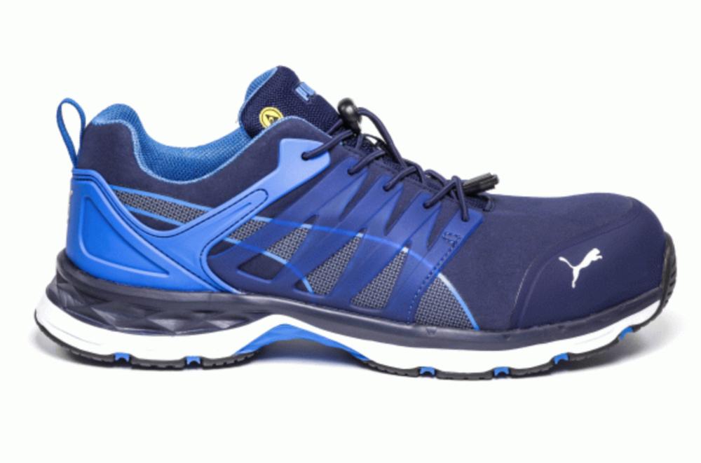 69084dbebde Puma - Velocity 2.0 Low Carbon Fiber Toe Athletic Shoe - 643855 (Blue) —  Gilvin s Boots   Shoes