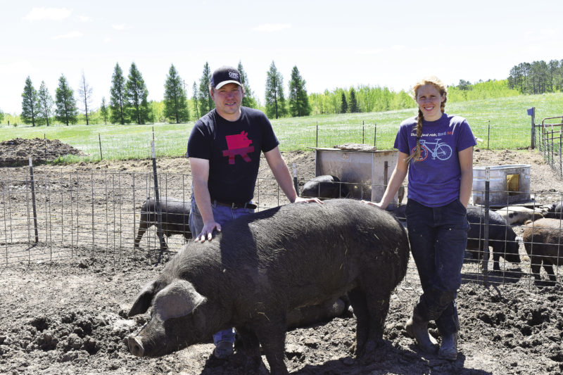 Happy Pigs at Yker Acres Farm - Northern Wilds MagazinePublished June 27, 2017Photos and article by Ali Juten