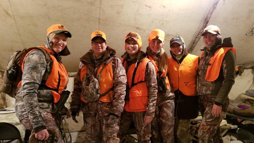 Ladies Elk Camp 2017