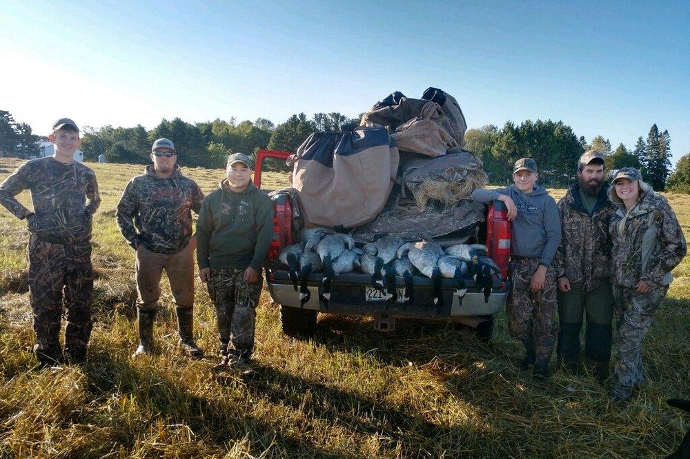 Goose Harvest 2018