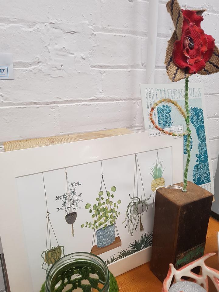 Jemma Banks, Plants Print, £20 or £32 framed
