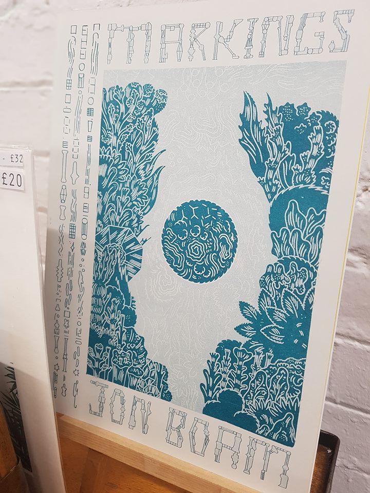 'Markings' by Jon Boam, £10