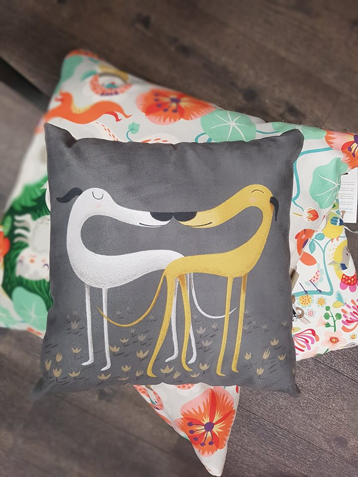 Small Cushions £17, Medium Cushions £20, Large Cushions £30