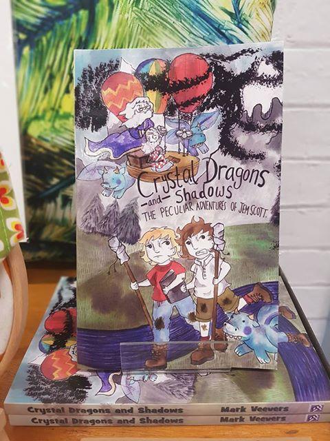 'Crystal Dragons & Shadows' - £8.50
