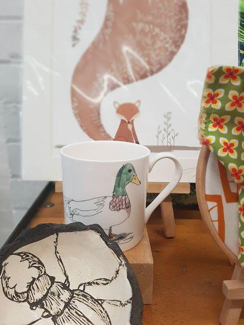 Mallard Mug - Death by Tea - £12