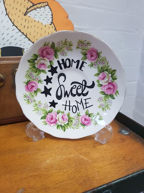Pixie Drew - Upcycled Plate - £10