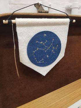 Petit Booche - Zodiac Banner - £12