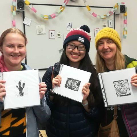 Sombrero Printmaking Happy Faces.jpg