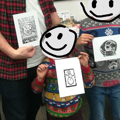 Sombrero Printmaking Happy Kids.jpg
