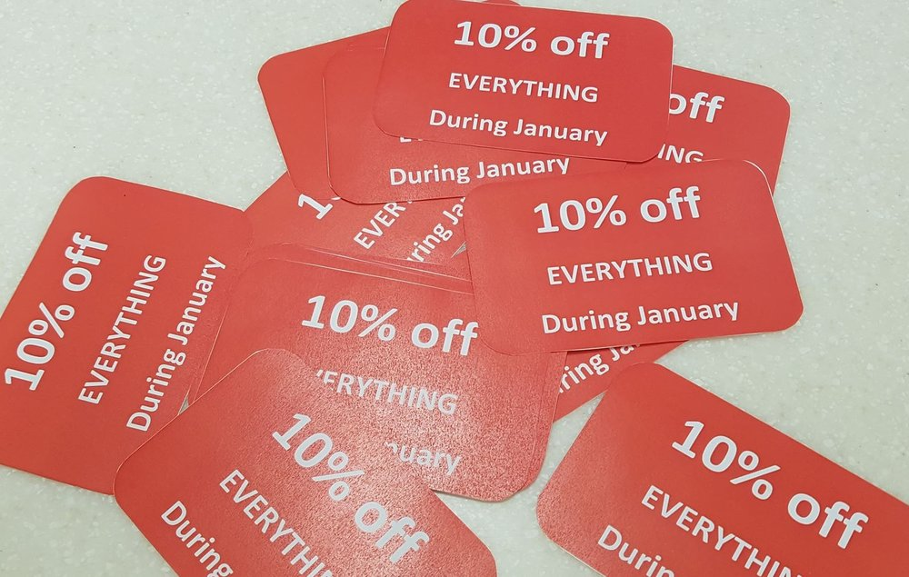 10% off everything in the Gallery Shop during the whole of January!