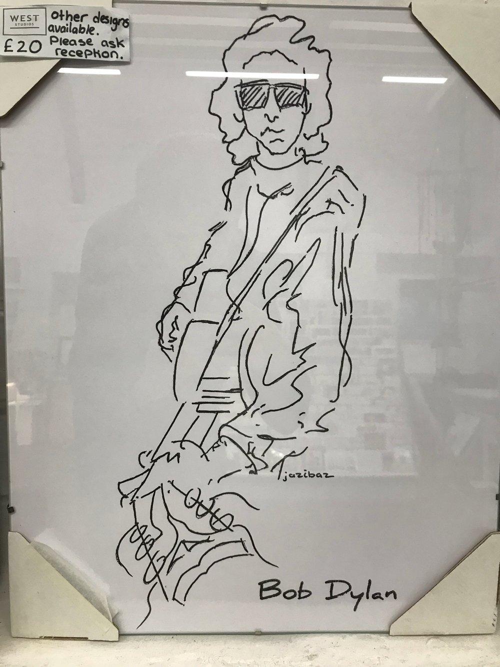 Jazibaz- Bob Dylan- £20