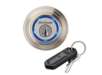 Look! A Kevo by Kwikset--not part of this article, but it's another Smart option.