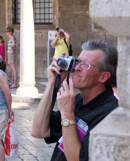 Rockin' that tourist look