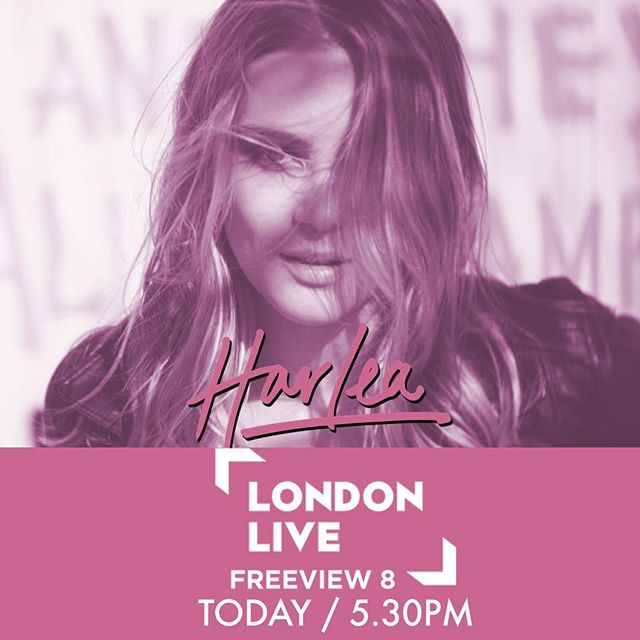 Today from 5.30pm make sure you tune in to @londonlive on any of the following channels Sky: Channel 117 - Freeview: Channel 8 - Virgin Media: Channel 159 📺 to see me interviewed live! 🎶 🔥 Harlea. x #BeautifulMess