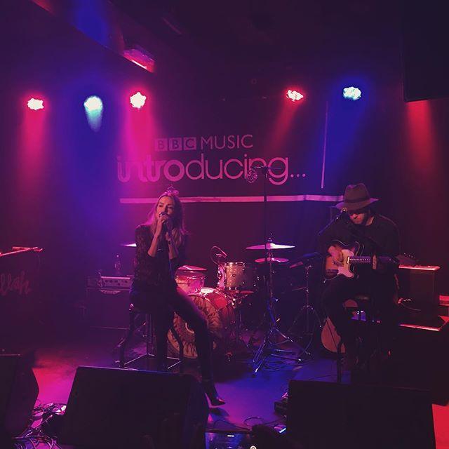 Harlea gets us going at @thelexingtonlondon for @bbcintroducing 🔥🎶 Harlea. x #BeautifulMess