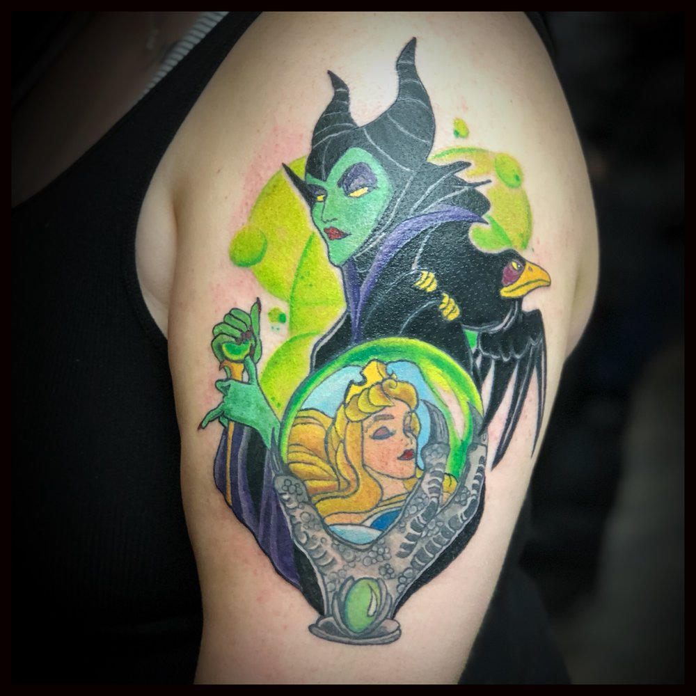 Disney's Sleeping Beauty Tattoo