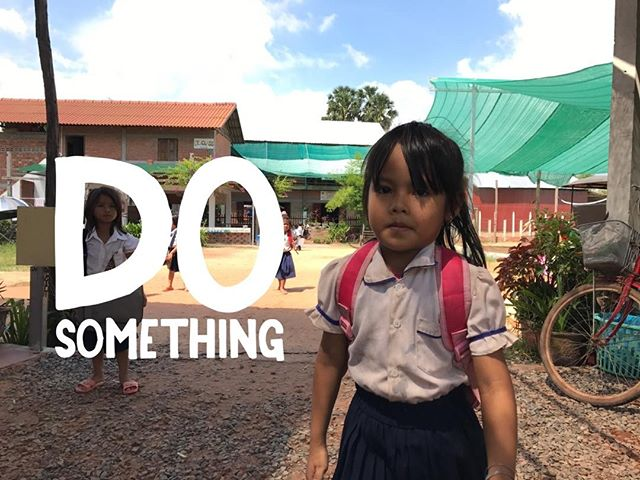 #dosomething different in 2017 #volunteer in #cambodia with @vpocharity