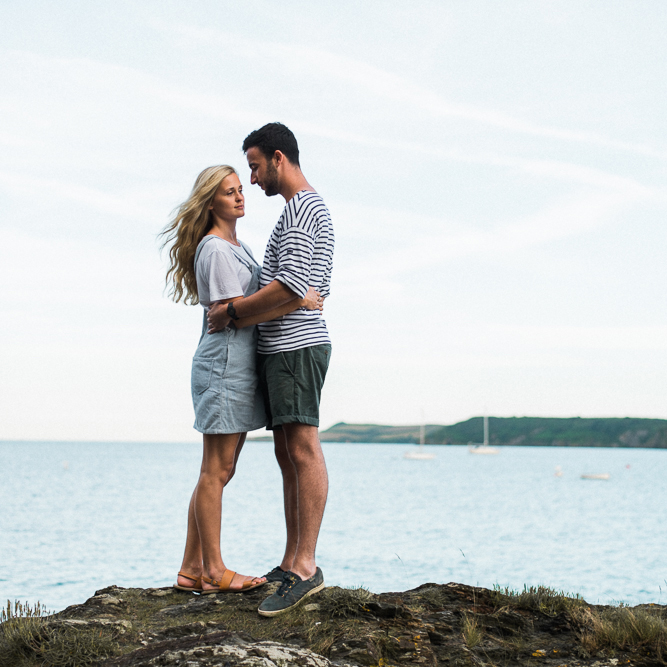 Couple photography in Cornwall