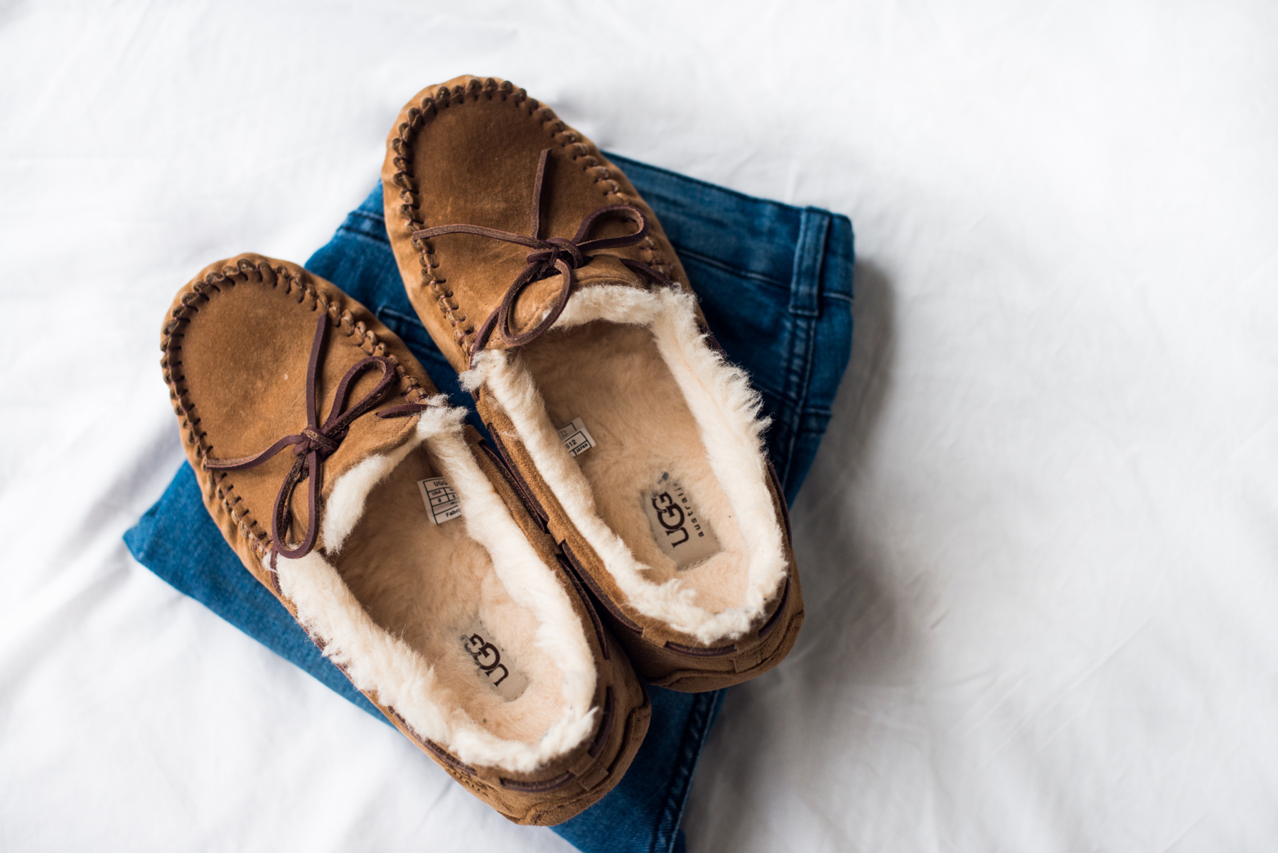 Ugg Slippers by Olivia Bossert