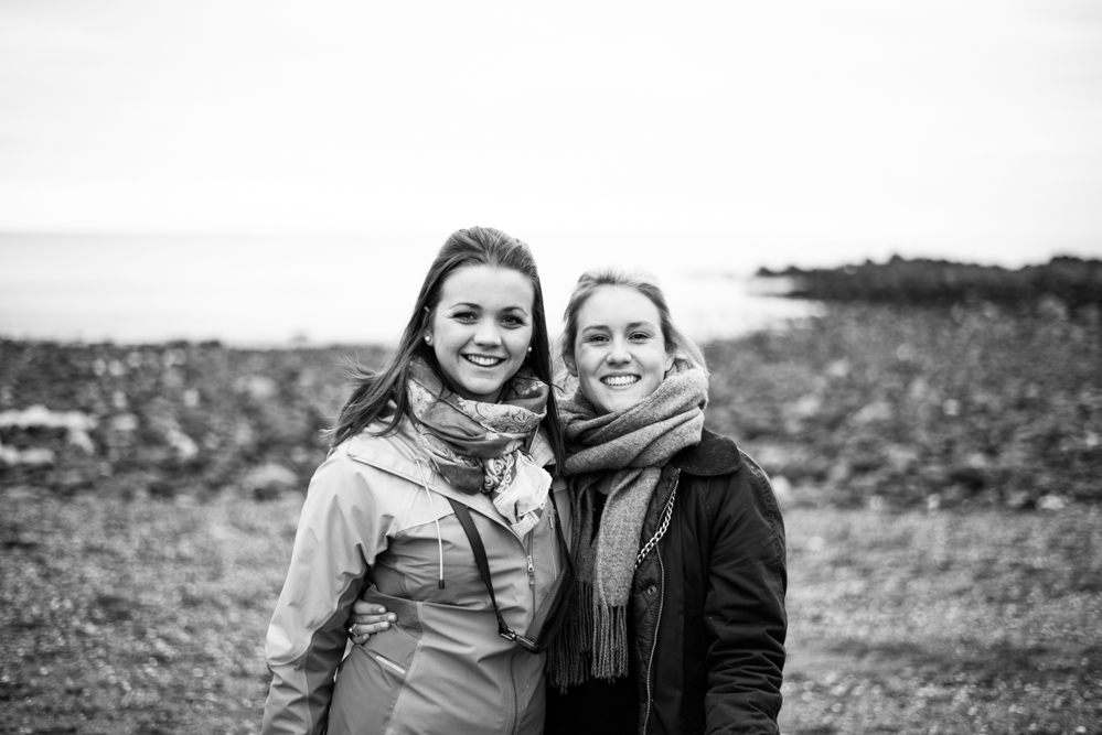 Smiles on Kennack Sands - Olivia Bossert Photography
