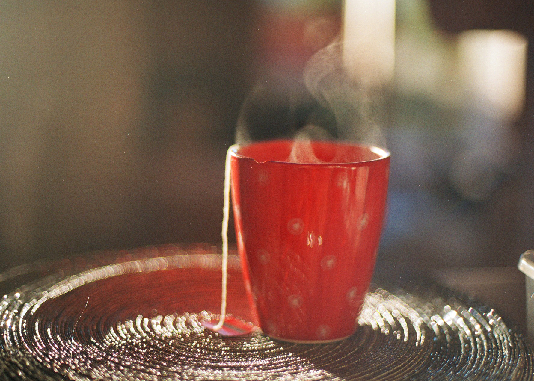 Steaming Cup of Tea by Olivia Bossert
