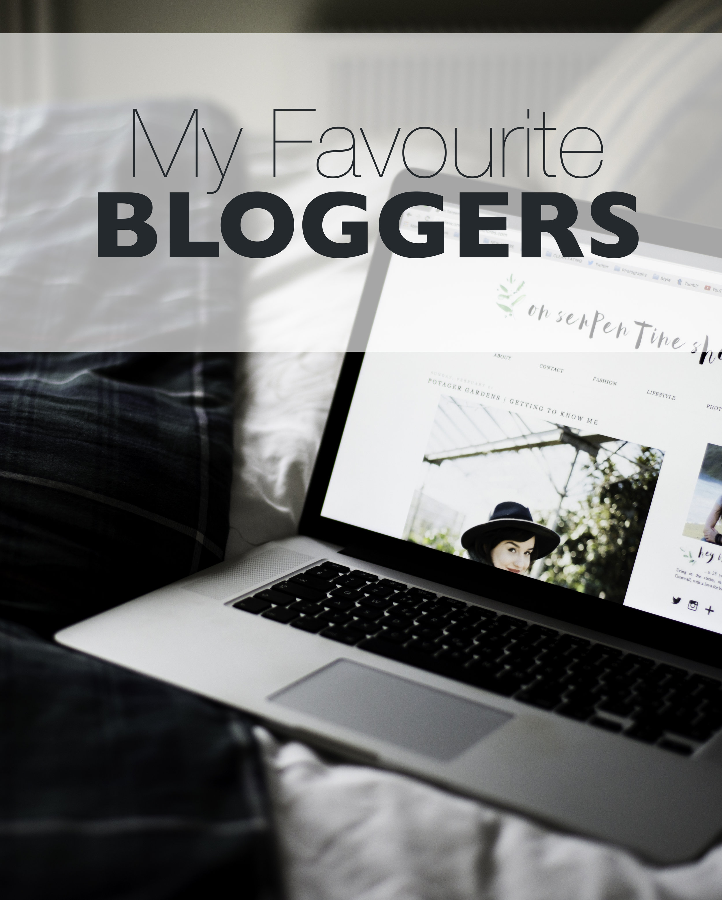 Favourite Bloggers by Olivia Bossert - oliviablogs.com