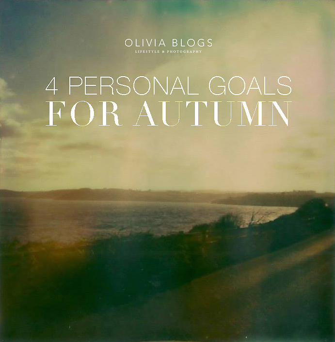 4 Personal Goals for Autumn