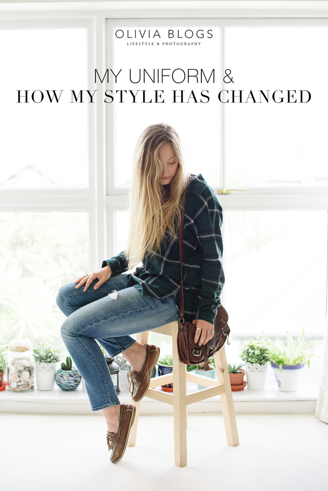 My Uniform and How My Personal Style Has Changed
