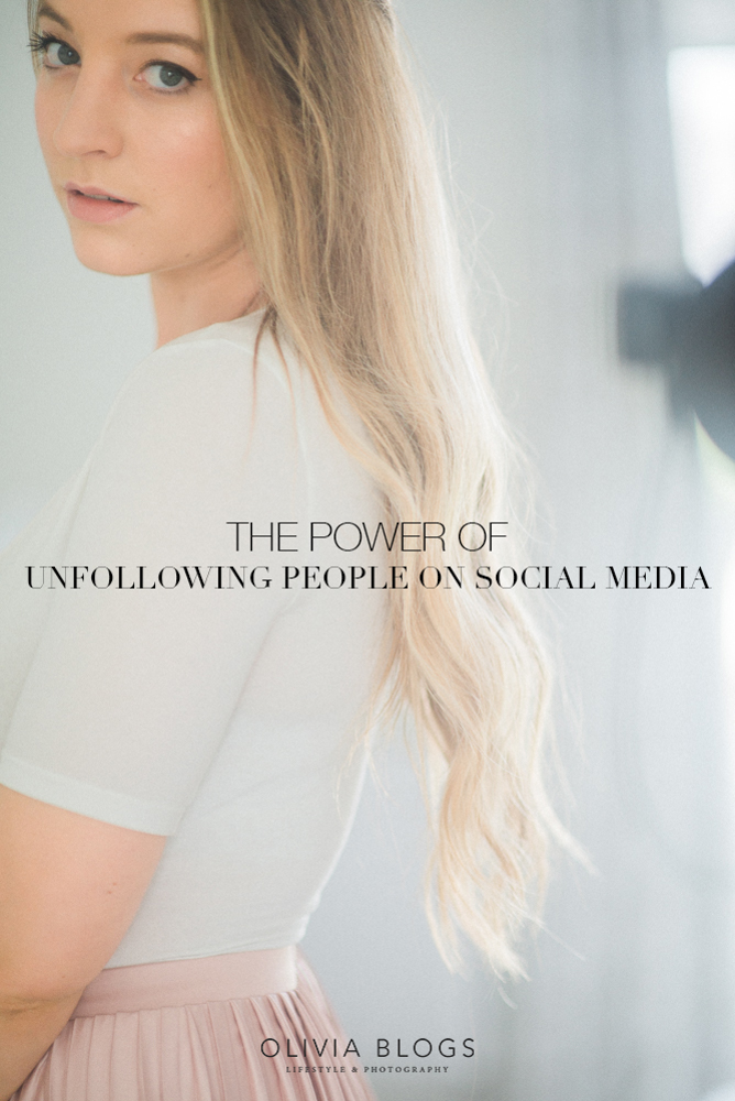 The Power of Unfollowing People on Social Media