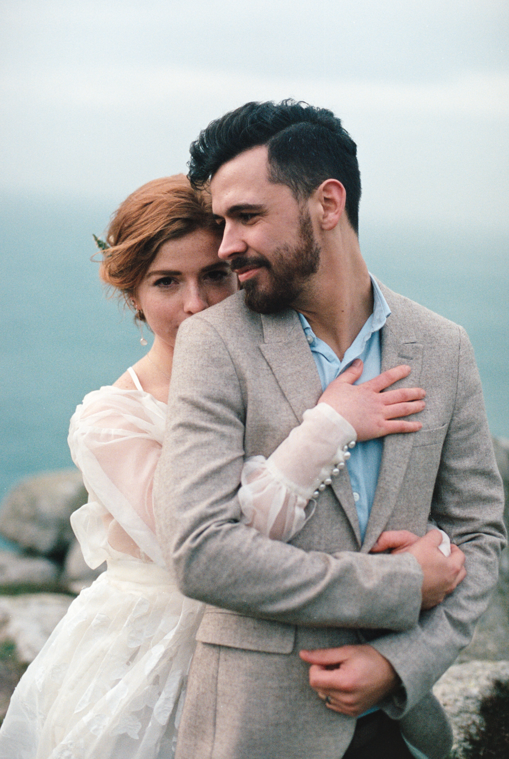 Elopement and Wedding Photography in Cornwall by Olivia Bossert