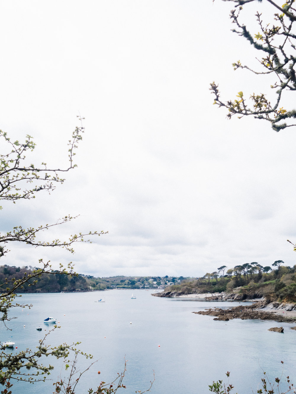 The Best Photoshoot Locations in Cornwall // Helford River // www.oliviabossert.com