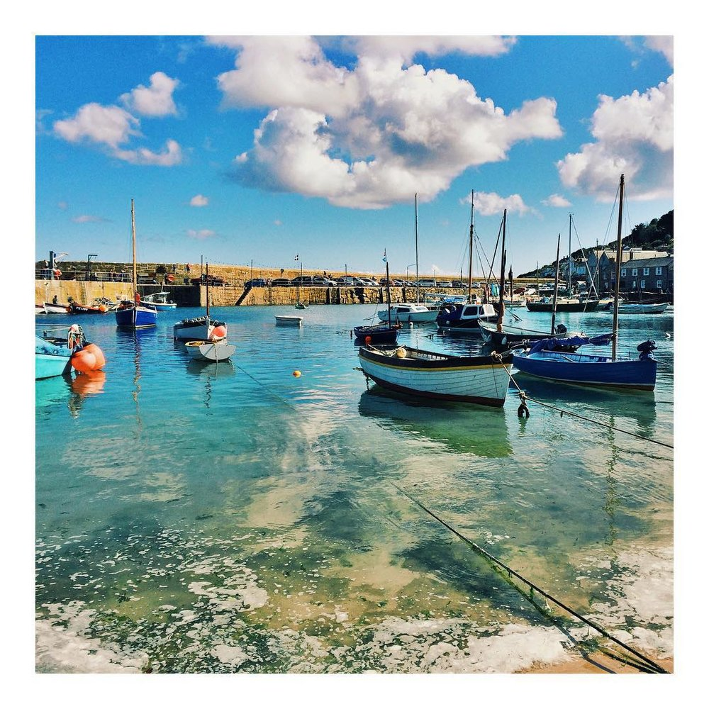 The Best Photoshoot Locations in Cornwall // Mousehole // www.oliviabossert.com