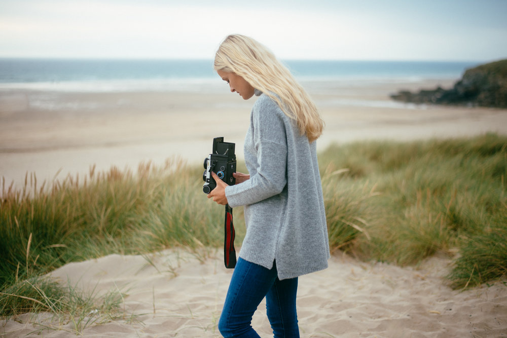 The Best Photoshoot Locations in Cornwall // Perranporth // www.oliviabossert.com