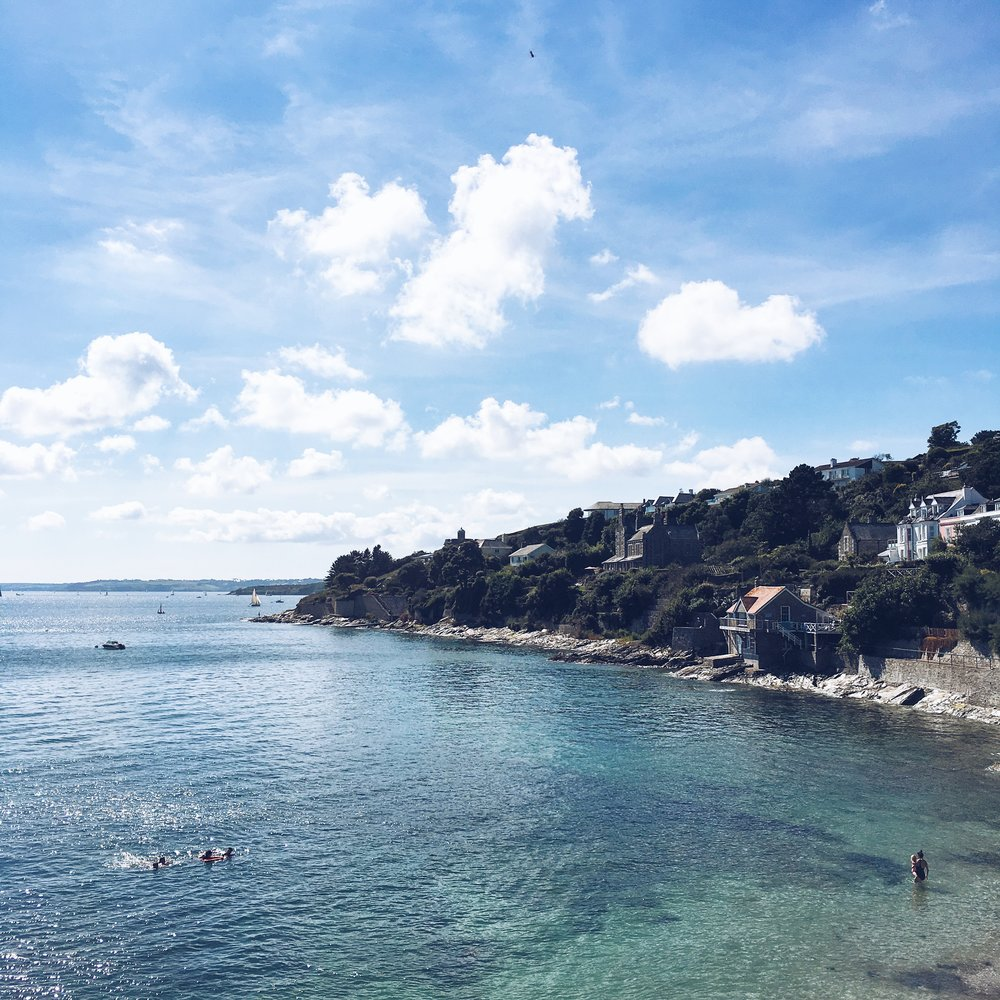 The Best Photoshoot Locations in Cornwall // St Mawes // www.oliviabossert.com