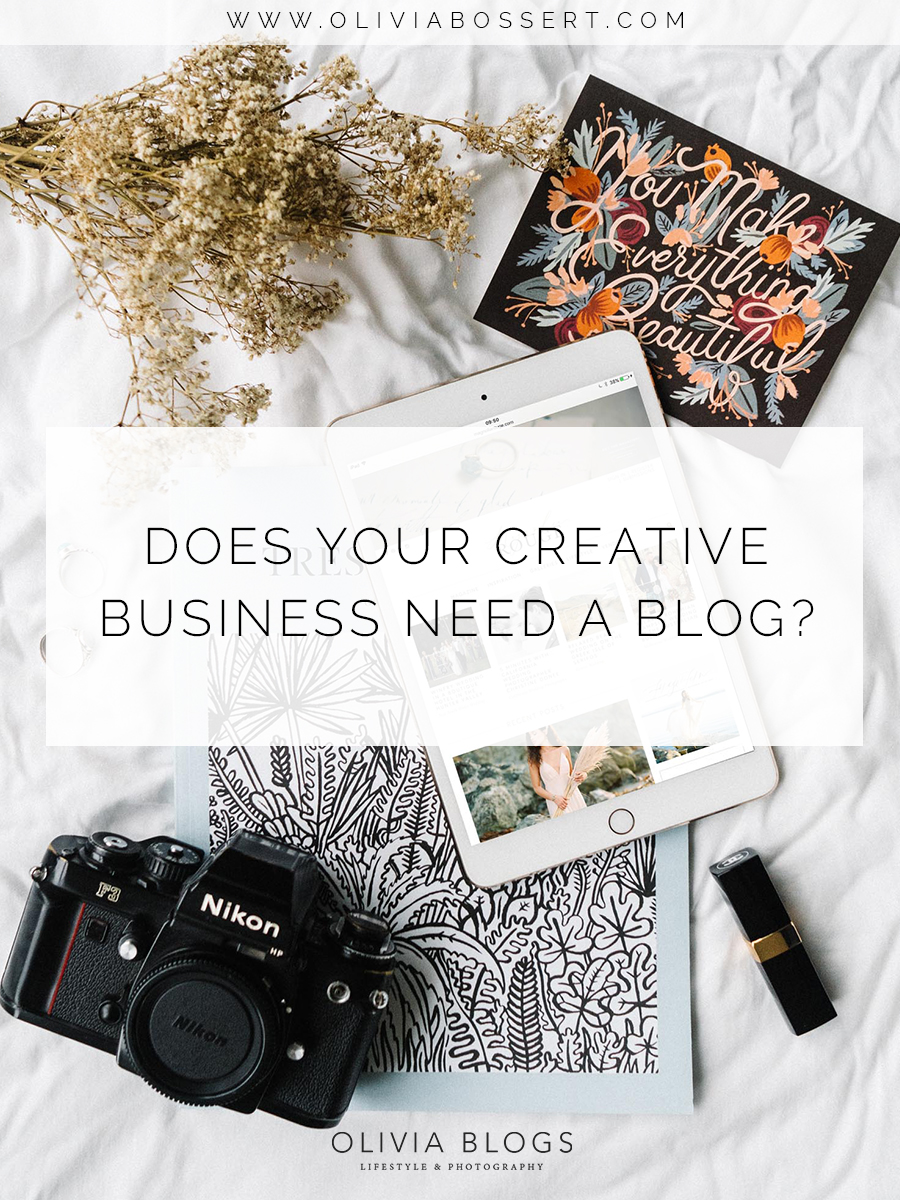 Does Your Creative Business Need A Blog? // www.oliviabossert.com // blogging for business, creative business owners, cornwall photographer, entrapreuneur, solopreneur,