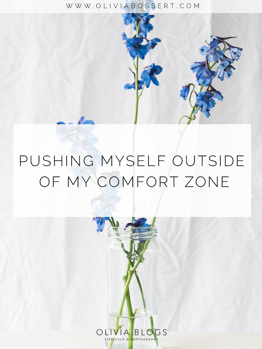 Pushing Myself Outside Of My Comfort Zone // www.oliviabossert.com // comfort zone, pushing myself, slow living, still life photography, flowers, studio photography, natural light