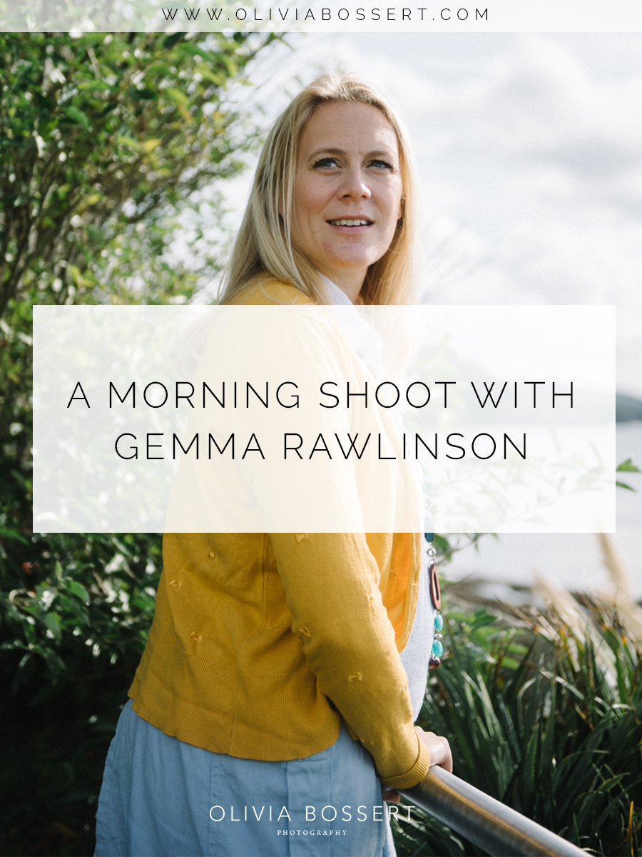 A Morning Shoot With Gemma Rawlinson // www.oliviabossert.com // portraits, cornwall, photoshoot, editorial, gemma rawlinson, box and cox vintage hire, headshots