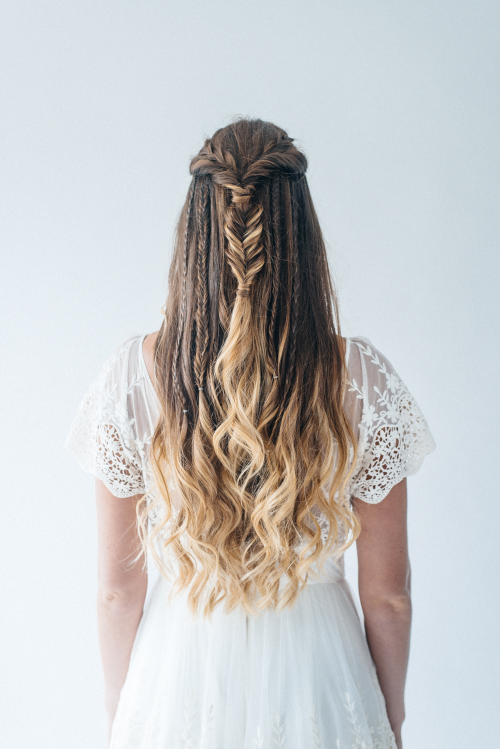 Why Collaboration Is The Best Form Of Marketing // Rock My Wedding Hair Styles // www.oliviabossert.com // bridal hair, wedding hair, half up half down hair, pinterest hair, rock my wedding, wedding photography, lifestyle photography, cornwall, content creation