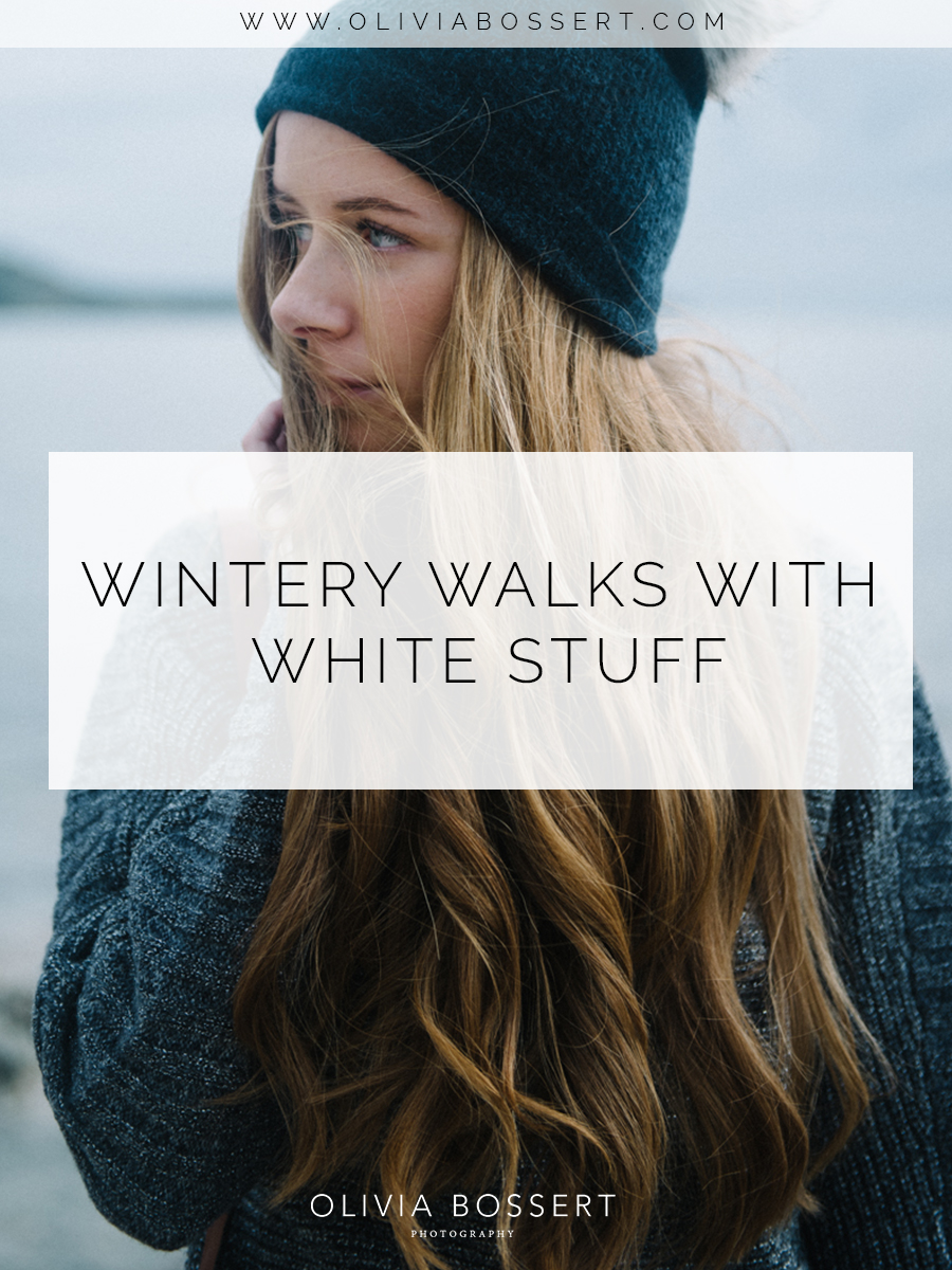 Wintery Walks With White Stuff // www.oliviabossert.com // Olivia Bossert Photography // lifestyle photography, white stuff, branding photography, content creation, winter fashion, cornwall, falmouth