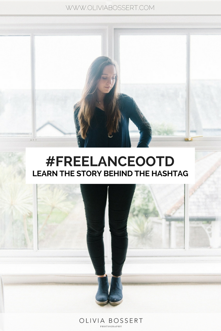 #FREELANCEOOTD // Learn about what the hashtag means // get involved in #freelanceootd // www.oliviabossert.com // capsule wardrobe, personal style, freelancer, work from home, getting dressed, fashion, outfit of the day