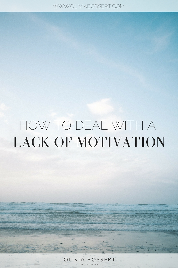 How To Deal With A Lack Of Motivation // The questions to ask yourself when you're feeling stuck // www.oliviabossert.com // business help, creative tips, creative living, getting going, business advice #businesstips #business #selfemplyed #freelance #motivation #feelingstuck #cornwall #photographer