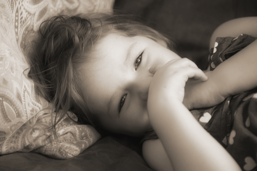In repose